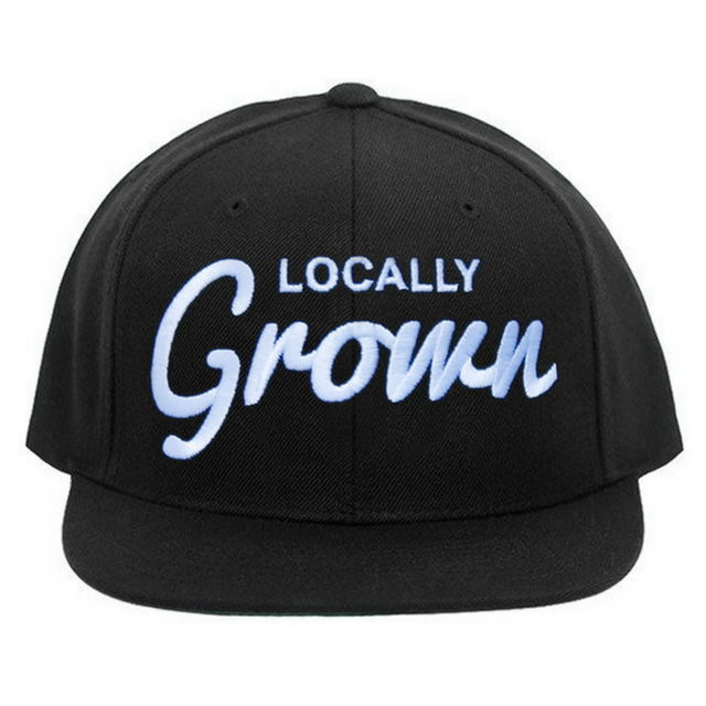 1c58fa03421 Locals Only Snapback - Black